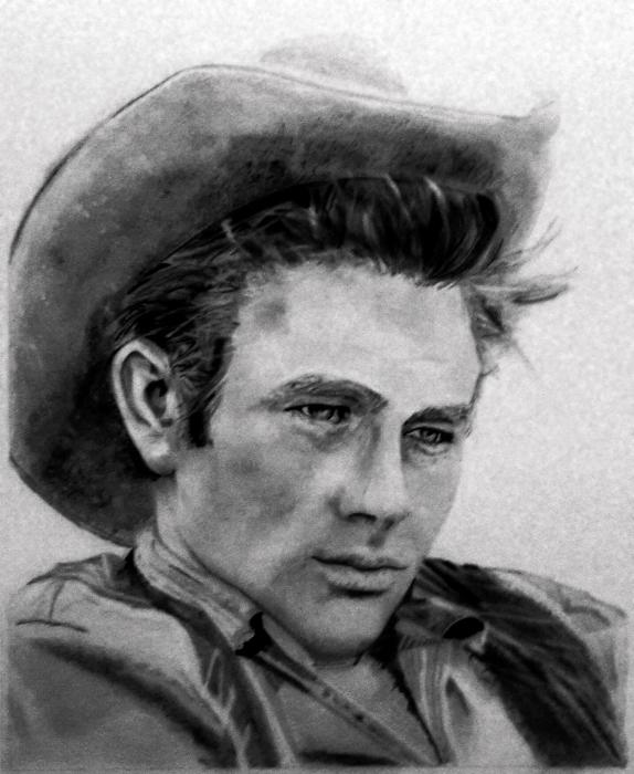 James Dean by andromeda9999